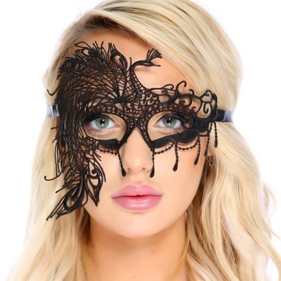 Кружевная маска для глаз - фото 13569