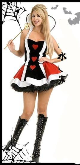 Маскарадный костюм королевы с короткой юбкой - фото 14016