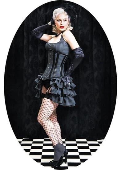Платье и корсет под грудь - фото 8060