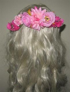 Ветка розовых цветов на гребне 2405