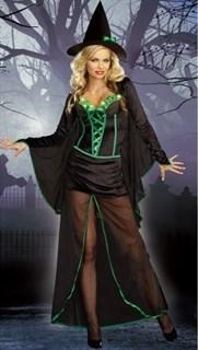 костюм зеленой ведьмы