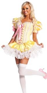 Желтый костюм куколки