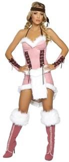 Розовое платье для индейской девушки