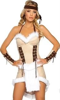 Маскарадный костюм индейской девушки