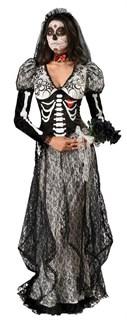 Кружевное платье в пол мертвой невесты