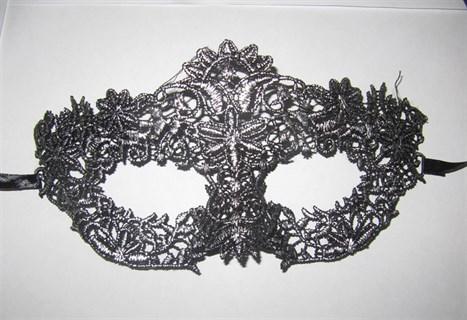 Ажурная маска с серебристым напылением 2594