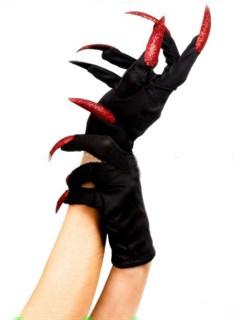 Перчатки с красными когтями