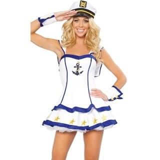 Карнавальный костюм забавной морячки