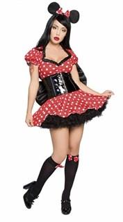 Маскарадный костюм мышки Мини - подружки Мики Мауса