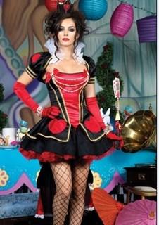 Маскарадный костюм королевы Зазеркалья. VIP