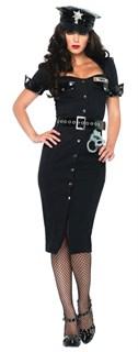 Длинное платье полицейской с болеро