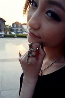 Леопардовое кольцо