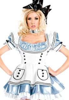 Оригинальный костюм Алисы из ПВХ