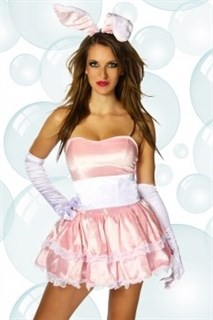 Платье розового зайчика