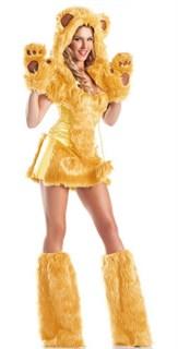 Костюм желтого медведя